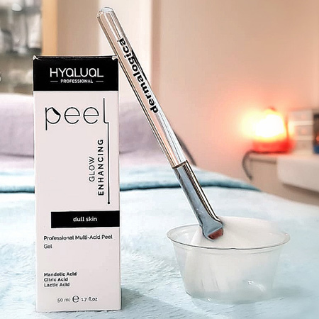 Professional multi-acid Glow Enhancing peel foк dull skin in Beauty Salon in Richmond, London