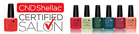 CND Shellac certified salon