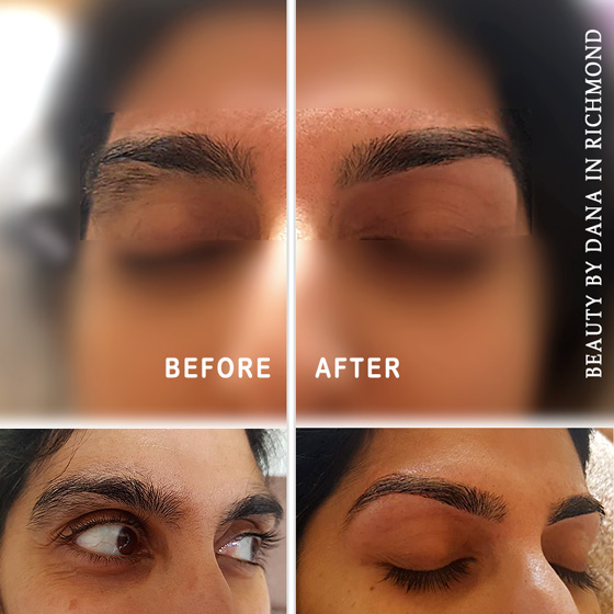 Eyebrows threading in Richmond